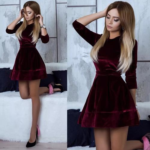 vestido corto casual