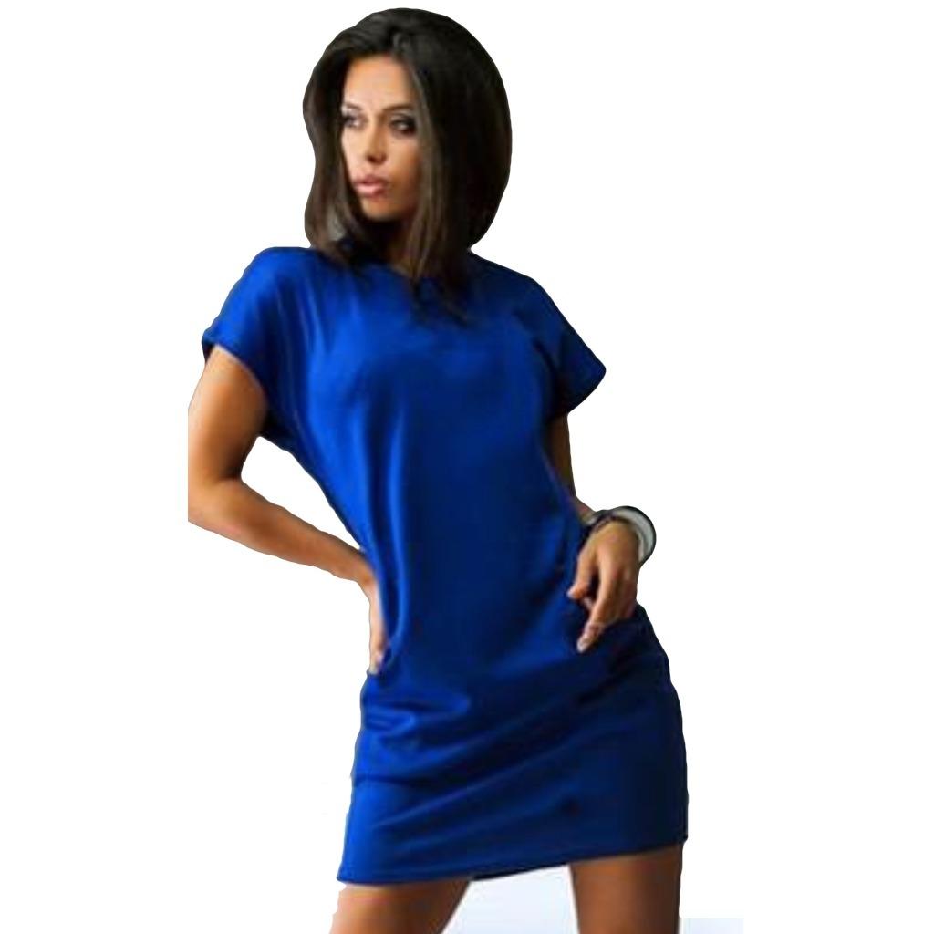 50c23c335 vestido corto casual manga corta cuello redondo toda 5142. Cargando zoom.
