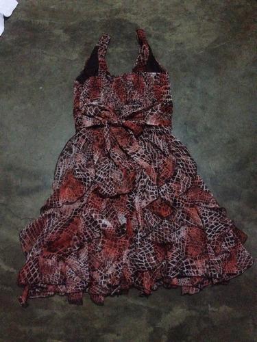 vestido corto / cóctel