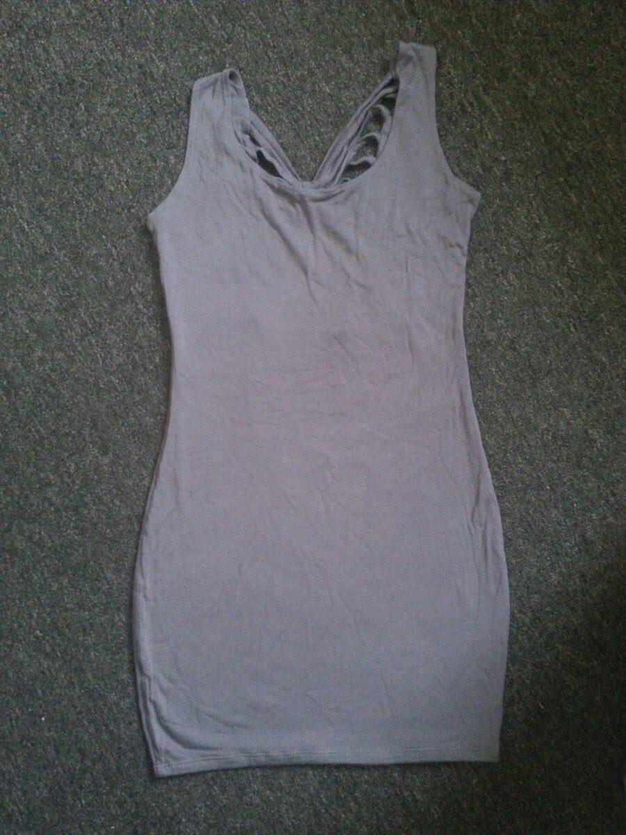 Vestido corto color plomo s 20 00 en mercado libre for Color plomo