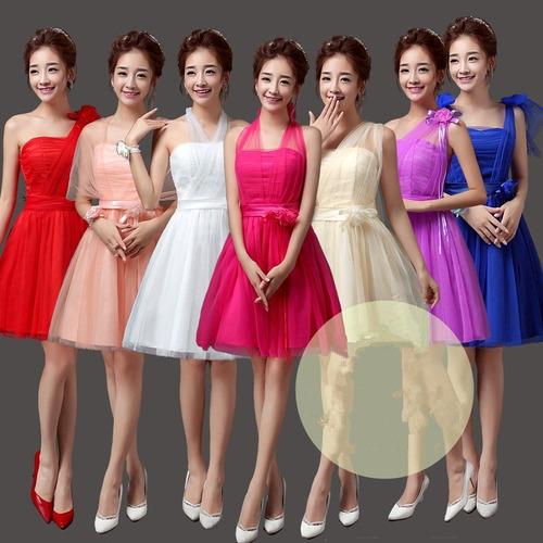 vestido corto damas fiesta eventos noche 7 forma de uso v43
