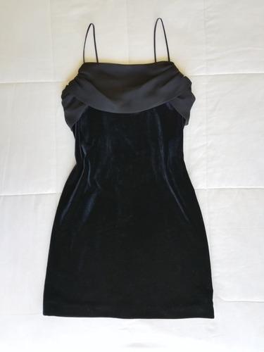 vestido corto de fiesta negro xs