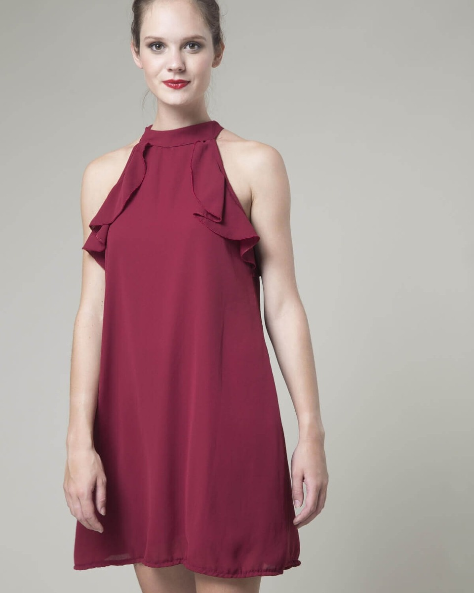 Imagenes de vestidos cortos volados