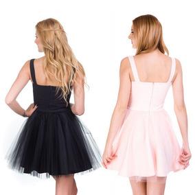 Vestidos Ampones Cortos Color Coral Ropa Bolsas Y Calzado