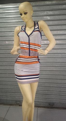 vestido corto de verano mujer talla standar