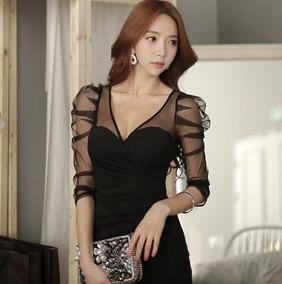 e99167b65 Vestidos Ropa Japonesa Dama Noche Moda Mujer Antro Dme - Vestidos de ...