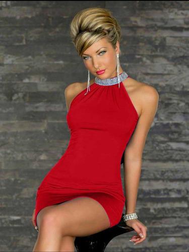 vestido corto, elegante y casual para dama con diseño.