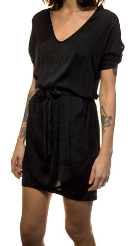 vestido corto escote amplio c/ mangas - directo de fábrica!