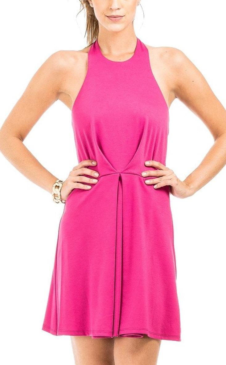 Vestido Corto Escote Espalda Moda 2019 -   299.00 en Mercado Libre f44e511fecf7