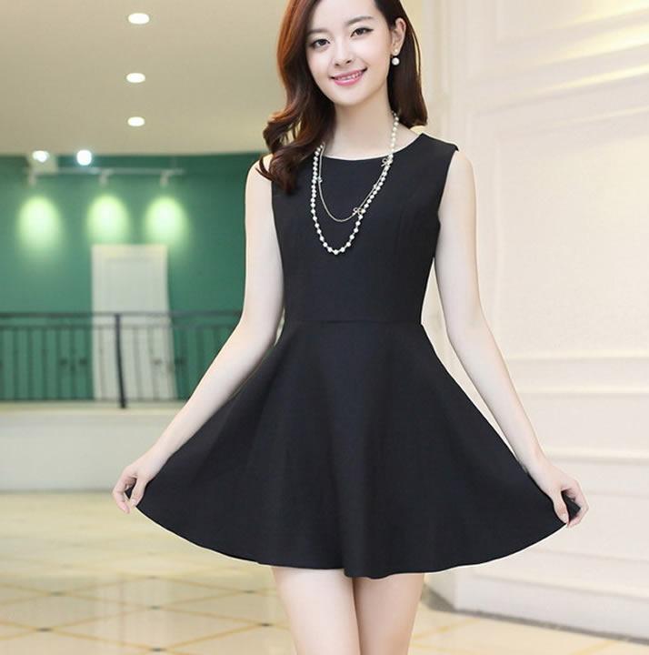 123a858a9 Vestido Corto Fashion Casual Moda Japonesa Envío Gratis 1151 ...