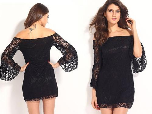vestido corto fiesta gala noche elbauldecorina 010136