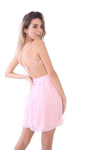 vestido corto fiesta modelo gretha brishka m-0174