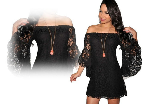 vestido corto fiesta - noche elbauldecorina 010136