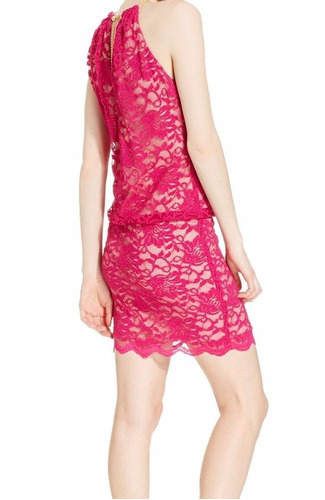 vestido corto fiesta rosa blanco beige todos los talles
