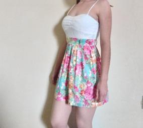 Vestido Casual De Tirantes Floreado Vestidos Cortos Veracruz