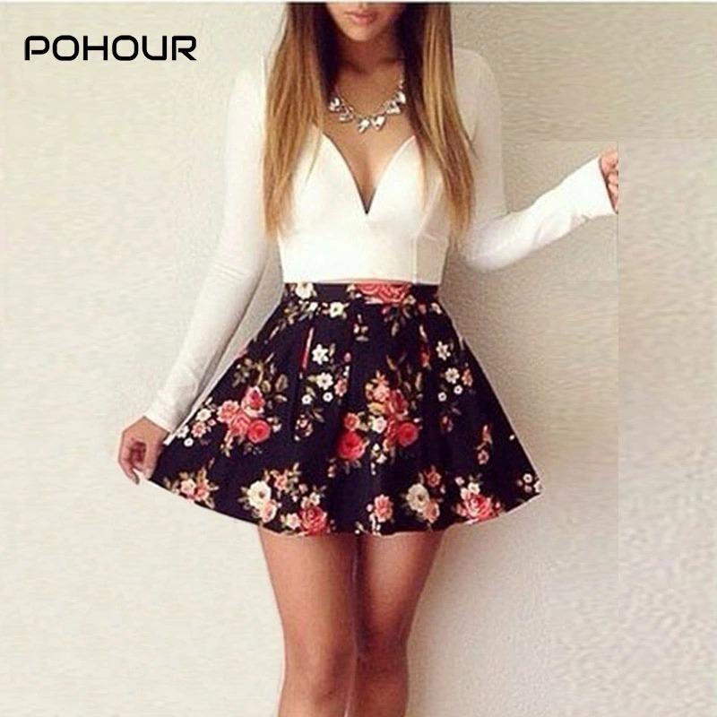 Imagenes de vestidos cortos con flores