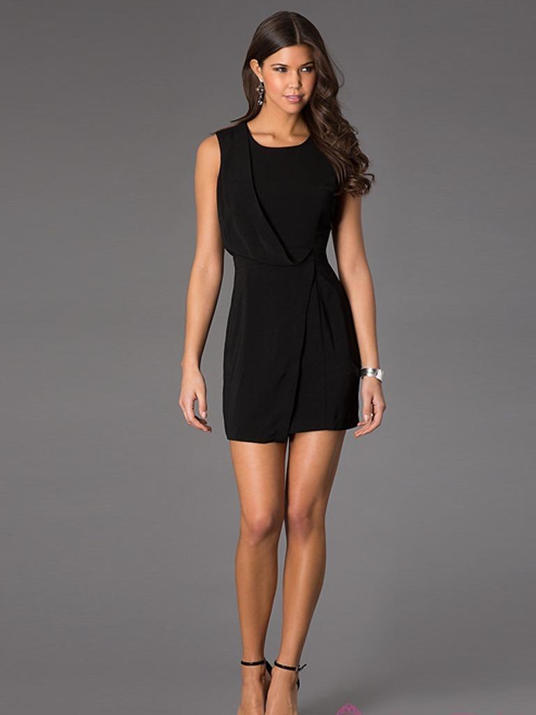 9045f7aa2d122 Vestido corto formal para oficina o fiestas cargando zoom jpg 768x1024 Vestidos  formales para oficina