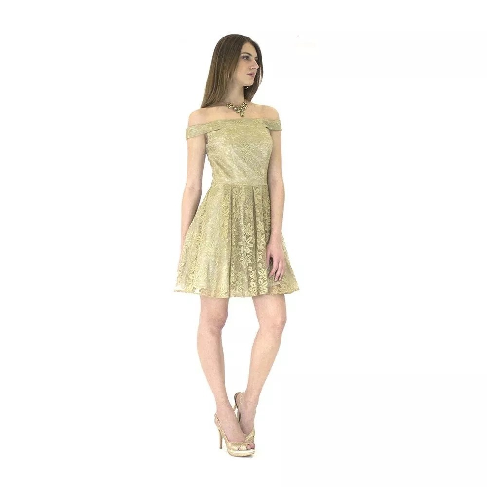 Vestidos de encaje cortos liz minelli