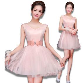 27daff78e3 Vestidos Rosa Pastel Cortos - Graduación de Mujer en Mercado Libre ...
