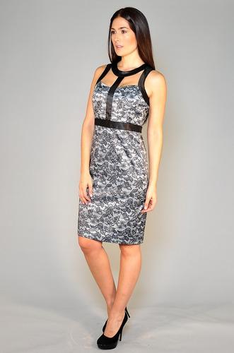 vestido corto mirta armesto mujer paulo de raso