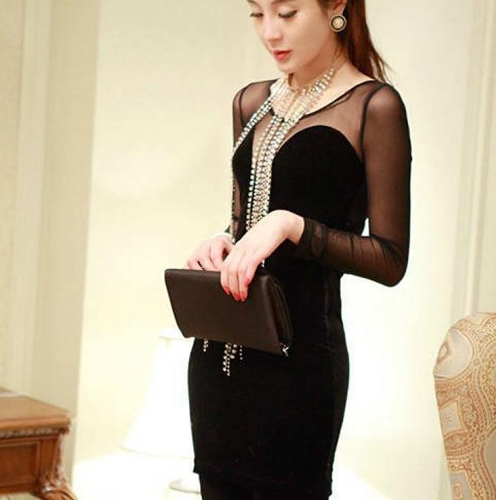 e505fcddf Vestido Corto Moderno Elegante Moda Japonesa 4 -   790.00 en Mercado ...
