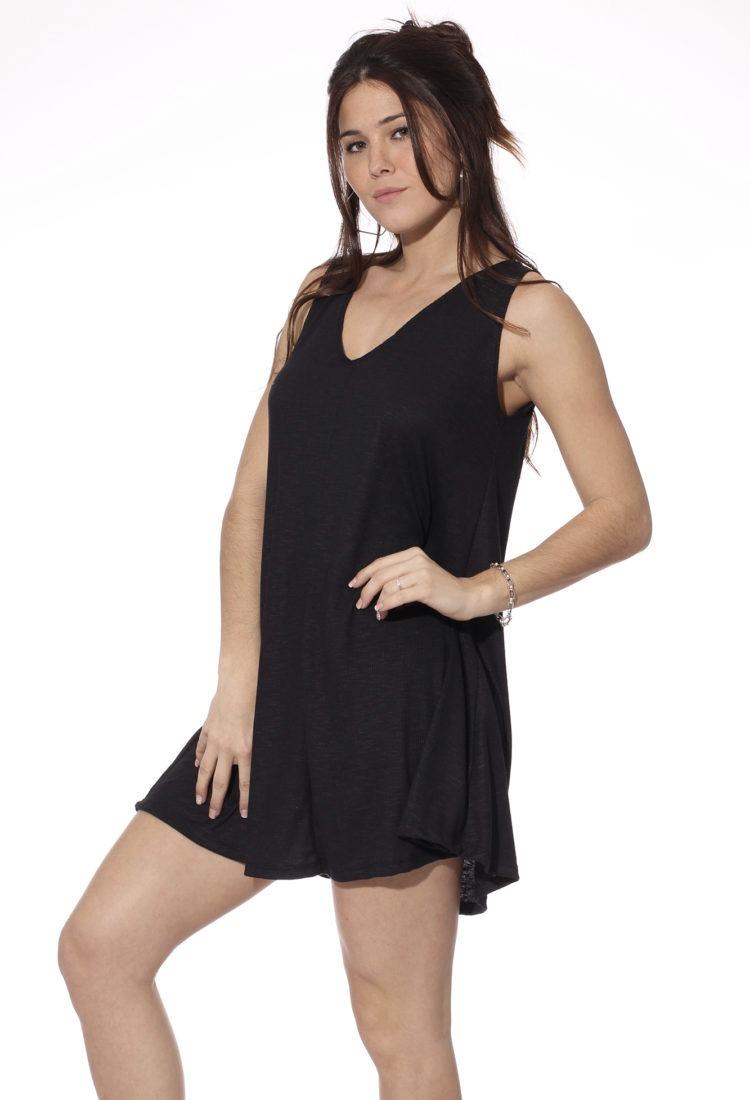 ventas al por mayor venta caliente barato ventas especiales Vestido Corto Mujer Escote V 3 Colores Calidad Octane Envios