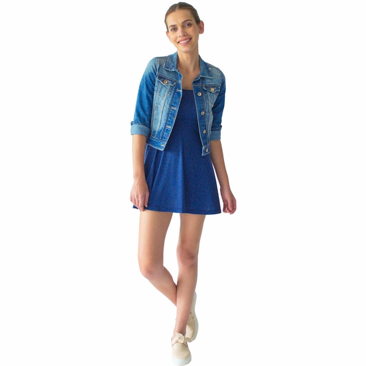 f9f07bdd56c3 Vestido Corto Mujer Rack   Pack Corto Azul -   499.00 en Mercado Libre