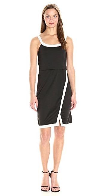 Vestidos cortos negro y blanco