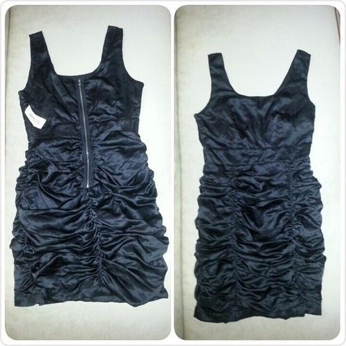 vestido corto negro marca forever 21