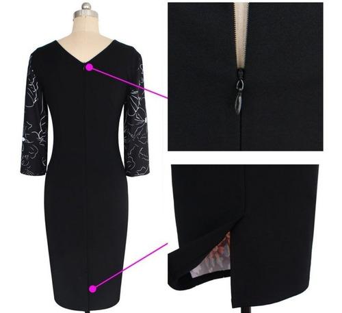 vestido corto oficina fiesta noche elbauldecorina 0101118
