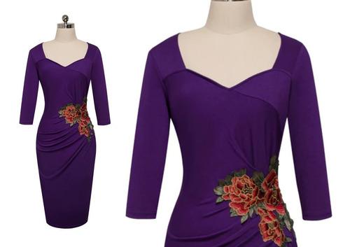 vestido corto oficina fiesta noche elbauldecorina 0101122