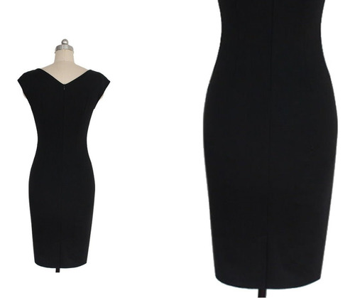 vestido corto oficina fiesta noche elbauldecorina 010190