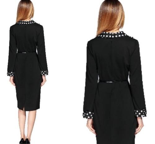 vestido corto oficina noche fiesta elbauldecorina 0101104