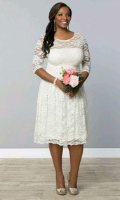 Vestidos para boda civil de dia para gorditas