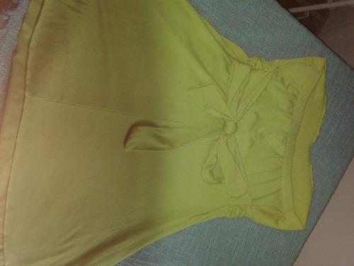 vestido corto playero o blusa larga