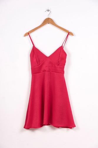 vestido corto seda crep negro blanco lila rosa con recorte