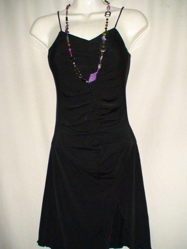 vestido corto strapless bfn