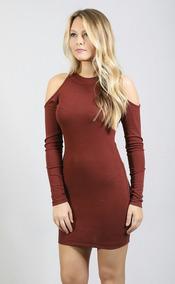 Vestido Corto Strech Moda 2019 Hombros Al Aire Off Shoulder