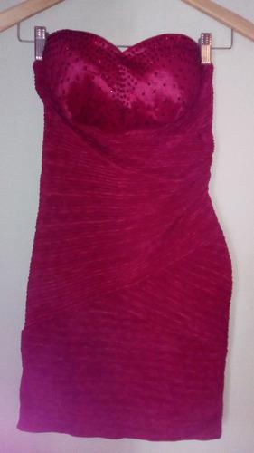 vestido corto tipo coctel