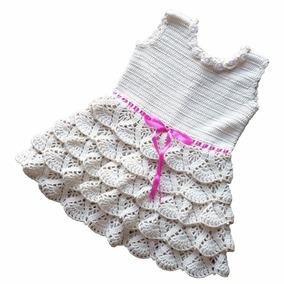 88b828c4c66c Vestido De Croche Infantil - Vestidos com o Melhores Preços no ...