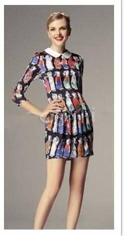 Popeye vestido de mujer
