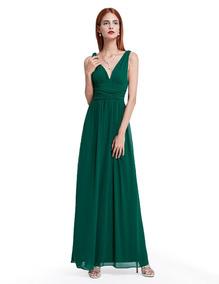 Vestidos Verdes Bandera Dama Vestidos De Mujer De Noche