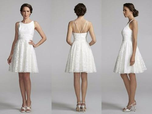 vestido curto alça