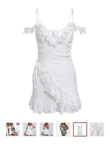 vestido curto branco #réveillon2020