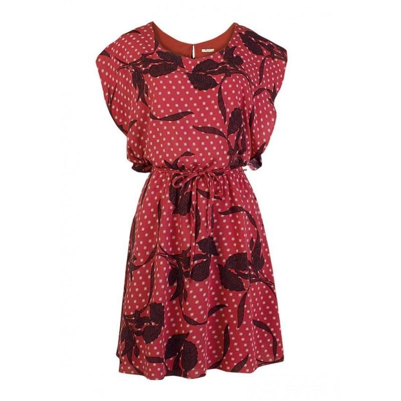 2a96ccce3 Vestido Curto Hering Haxt - Vermelho - Delabela Calçados - R$ 187,26 ...