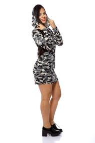 8c2dd3d24 Vestido Militar Camuflado Tamanho P - Vestidos Casuais P Femininas ...