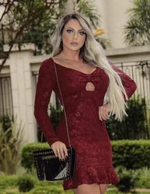 4e74c76cf7 Vestido Tecido Jacquard - Vestidos Femeninos com o Melhores Preços no  Mercado Livre Brasil
