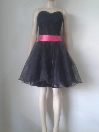 vestido curto de debutante e acomp(entrega 2 dias úteis)