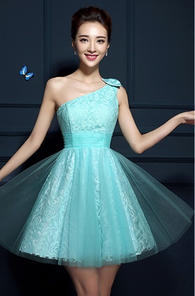 8e9d70671 Vestido Curto Debutante Festa 15 Anos Verde Tiffany Renda - R$ 199 ...