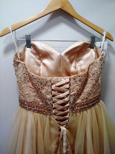 vestido curto dourado/ debutante/15 anos/ vestido dourado